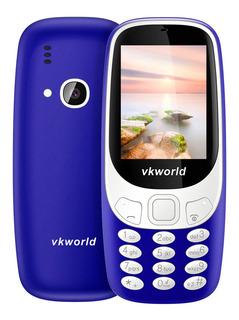 Vkworld Z3310 Recurso Telefone 2g Gsm 6531 2,4 Polegadas
