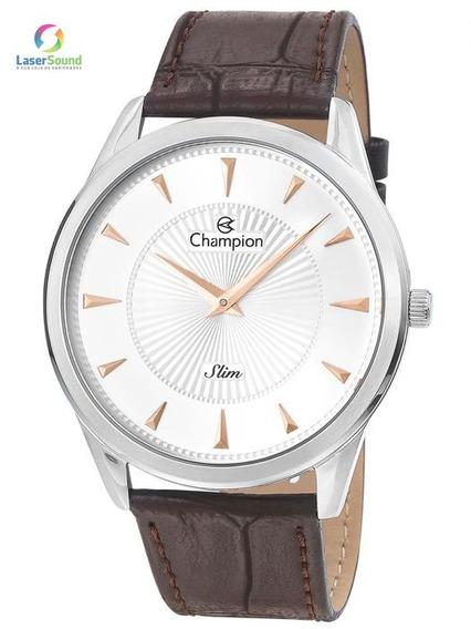 Relógio Champion Masculino Ca21768q, C/ Garantia E Nf