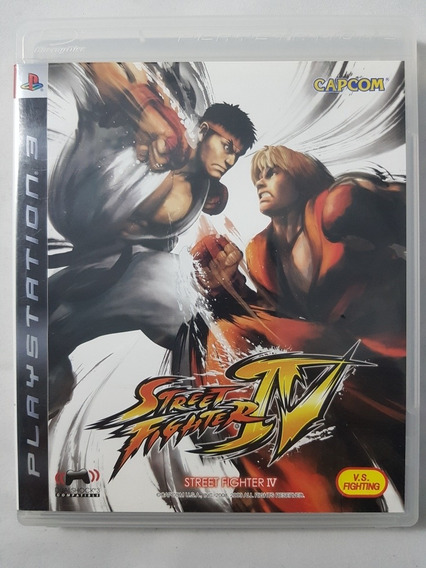 Street Fighter Iv 4 Ps3 Mídia Física Pronta Entrega