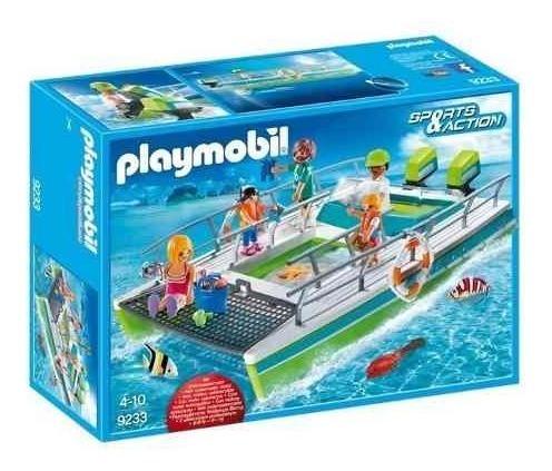 Playmobil Action Barco Visão Submarina E Motor - 9233