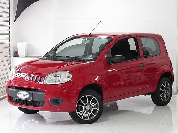 Fiat Uno 1.0 Vivace Flex 2013 Vermelho