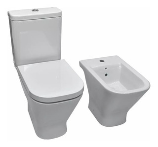 Juego De Sanitario Roca Gap Inodoro+depo+bidet+tapa+toallon