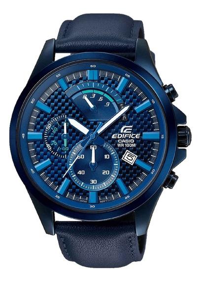 Relógio Casio Edifice Masculino Cronógrafo Efv-530bl-2avudf