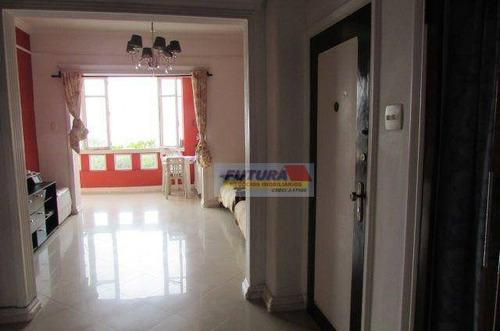 Imagem 1 de 30 de Apartamento Com 3 Dormitórios À Venda, 95 M² Por R$ 380.000,00 - Gonzaguinha - São Vicente/sp - Ap2465