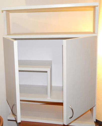 Mueble Modular Aéreo En Melamina Para Baño Mod. Gcc-13