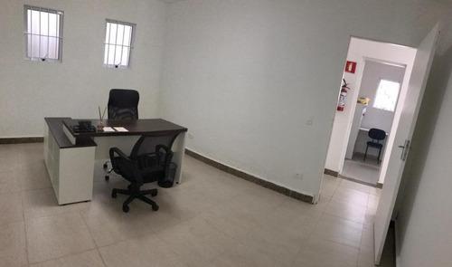 Sala Para Alugar, 60 M² Por R$ 3.500,00/mês - Demarchi - São Bernardo Do Campo/sp - Sa0056