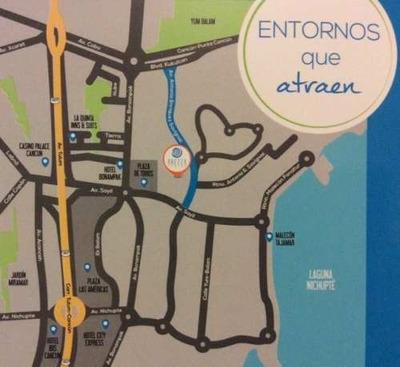 Deparatamento Loft En Venta En Brezza Towers Cancun Quintana Roo