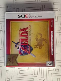 The Legend Of Zelda Ocarina Of Time 3ds/sellado