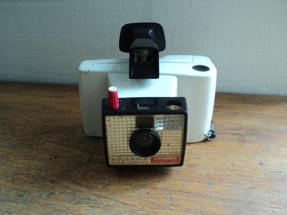 Camera Polaroid Antiga Para Decoração No Estado Usada