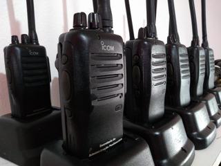 Kit 05 Rádios Icom Icf-12 Vhf (anatel) (barato)