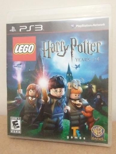 Jogo Lego Harry Potter Years 1-4 Mídia Física Ps3