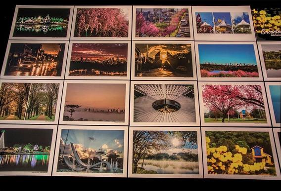 Caixa Com 29 Cartões Postais De Cascavel