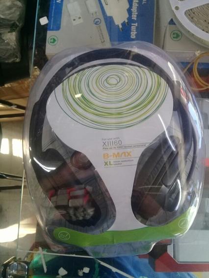 Fone De Ouvido Para Xbox 360 E Pc