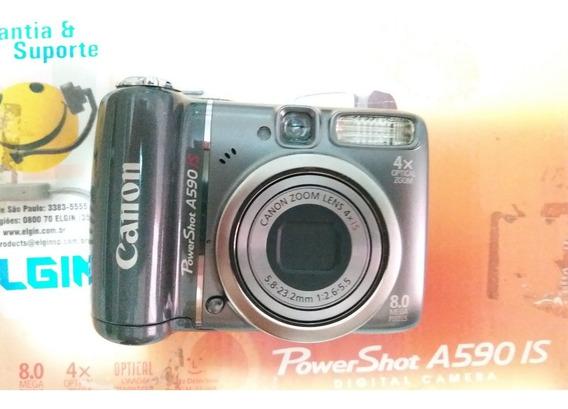 Câmera Canon Powershot A590 Na Caixa!