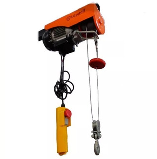 Aparejo Electrico 300 Kg Cable 12 Metros Malacate Lusqtoff