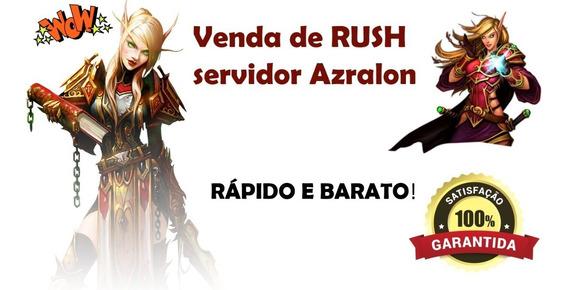 Wow Rush Dungeon Mítica +10 (mensal) Bfa / Aliança E Horda