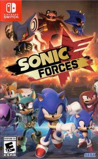 Sonic Forces Nintendo Switch Juego Nuevo En Karzov *