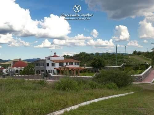 Se Vende Terreno En Yextho Country Club Tequisquiapan Qro.