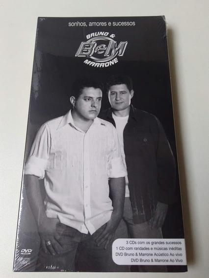Bruno E Marrone-box Sonhos,amores, Sucessos-6 Discos - Novos