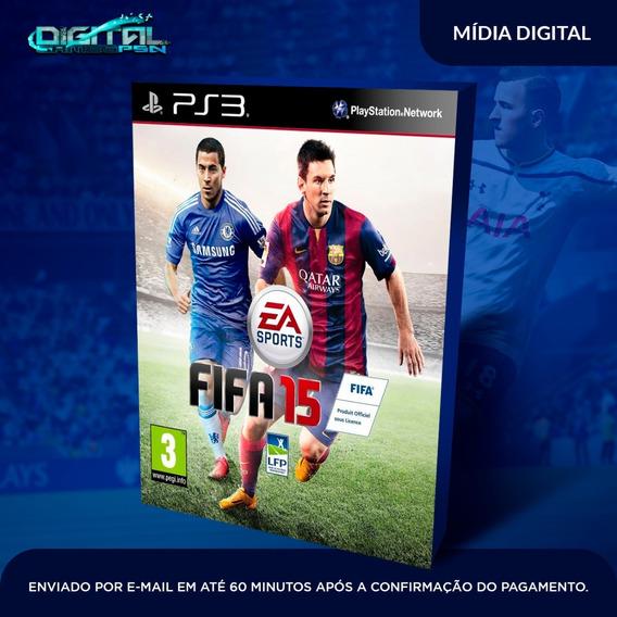 Fifa 15 Ps3 Psn Midia Digital Em 10 Minutos!