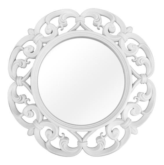 Espelho Decorativo Branco Qualidade 60x60x4cm