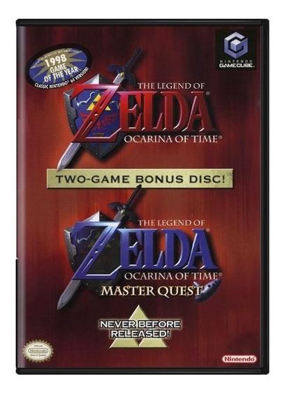 The Legend Of Zelda Ocarina Of Time Two Game Bonus Disc!