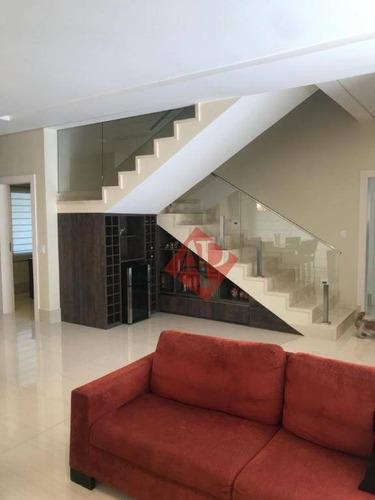 Casa Com 4 Dormitórios À Venda, 459 M² Por R$ 2.670.000,00 - Alphaville - Santana De Parnaíba/sp - Ca1326