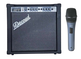 Karaoke Parlante Decoud 70w + Micrófono