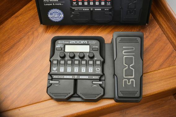 Zoom Pedalera - G1x Four - Nuevo..! Fender Marshall Boss