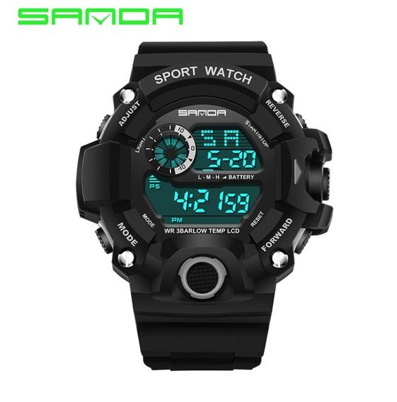 Relógio Masculino Militar Importado Esportivo + Super Brinde