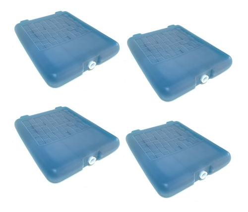 Imagen 1 de 8 de Refrigerante Rigido Grande 1kg Para Conservadora Pack X 4