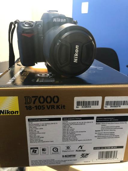 Câmera Nikon D7000 18-105 Vr Kit