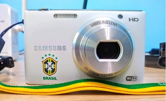Câmera Digital Samsung St2014f Por: Lojas Eletrobom