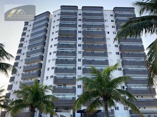 Apartamento Com 1 Dormitório À Venda, 50 M² Por R$ 219.000,00 - Mirim - Praia Grande/sp - Ap2174