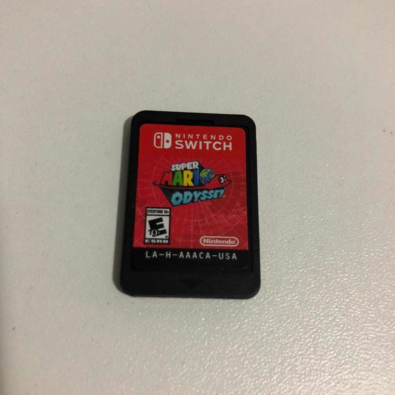 Super Mario Odyssey Nintendo Switch Mídia Física Original