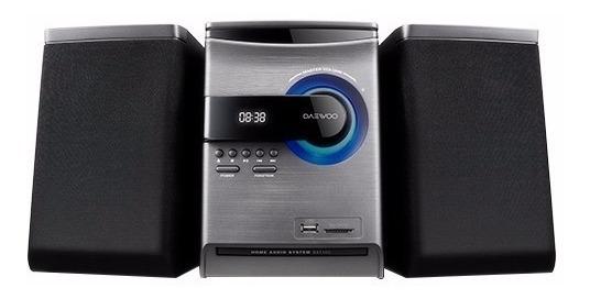 Estereo Minicomponente Daewoo Bluetooth 350w Radio Fm,cd,usb