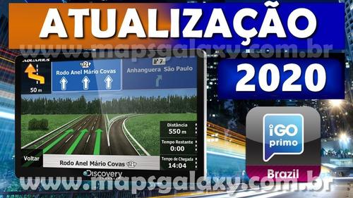 Imagem 1 de 3 de Atualização Gps Foston Igo Amigo 2020   5 Ou 7 Polegadas