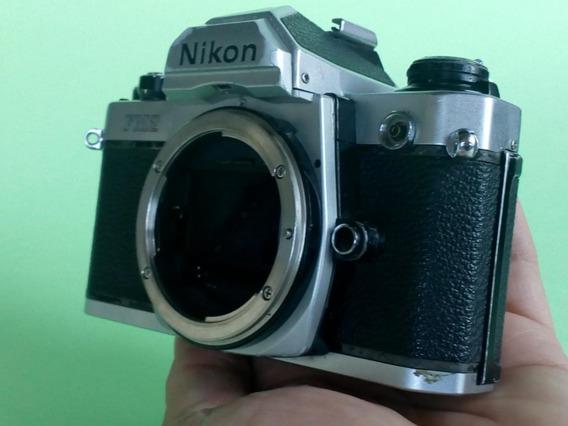 Câmera Fotográfica Analógica Nikon Fm2n Somente O Corpo