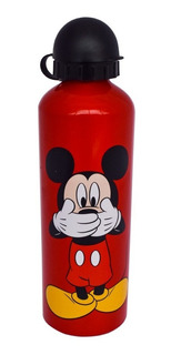 Botella De Agua De Aluminio 750ml Mickey Disney
