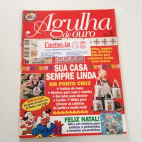 Revista Agulha De Ouro Ponto Cruz Toalhas De Mesa B222