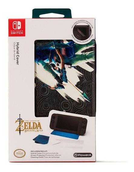 Hybrid Cover - Capa Protetora Para Switch Zelda - Nvovo