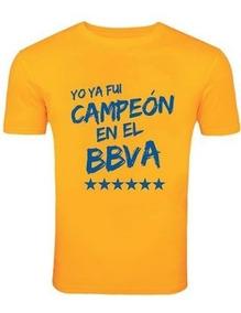 Camiseta Estampada Tigres Yo Ya Fui Campeón