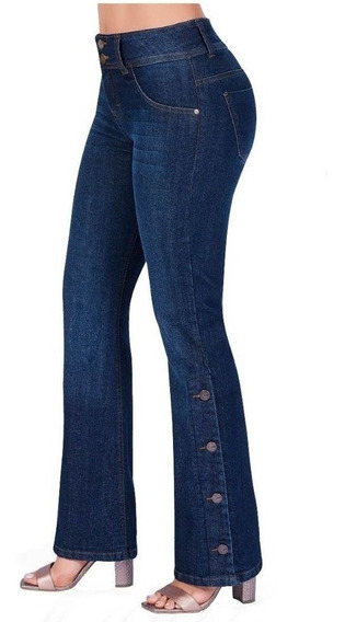 Cklass Dama Jeans Bootcut Azul Mezclilla Stretch 437-55 Msi