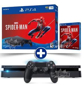 Ps4 Slim 1tb 1 Controle Dualshock4 + Spiderman Pt-br Bivolt