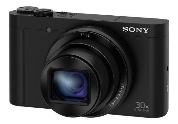 Cámara Digital Sony Dsc-wx500 Hd720p Y Zoom Óptico De 30x