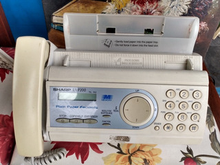 Fax Sharp Ux -p200