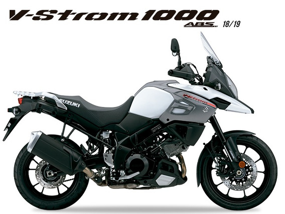 Suzuki V-strom 1000a 2018/2019 Branco - 0km