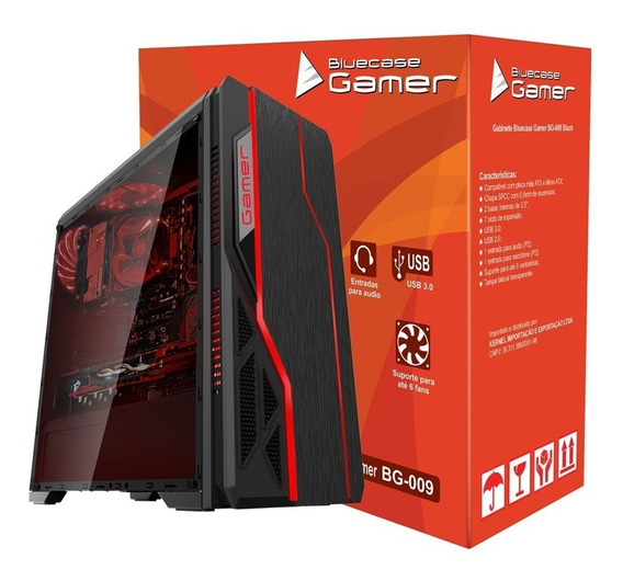 Pc Gamer Intel I7/memória 8gb/hd 1tb/radeon Rx 550 4gb Ddr5