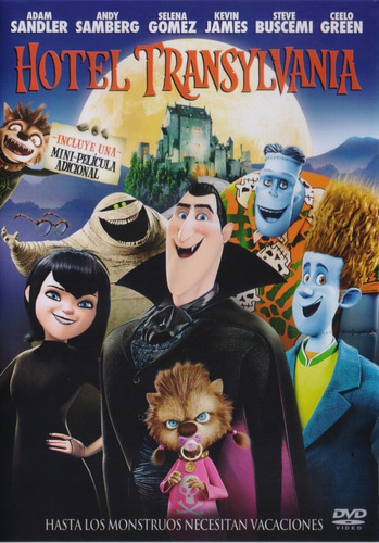 Hotel Transylvania 1 Uno Pelicula Dvd