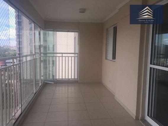 Apartamento Na Vila Augusta, Condomínio Supera 110m², 3 Suítes, 2 Vagas, Estuda Permuta. - Ap0366
